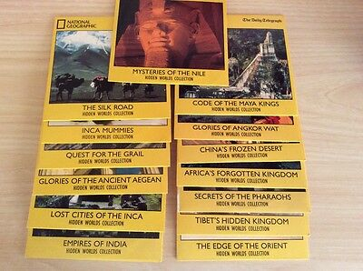 14 Daily Telegraph National Geographic Hidden Worlds Dvds