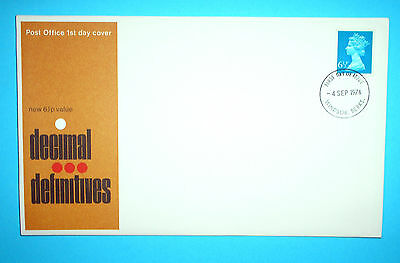 GB Definitive First Day Cover - 1974 - Windsor cds
