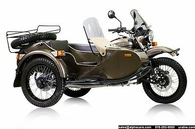 2016 Ural Limited Edition Ambassador  Limited Edition 25 WorldWide Custom Color Financing & Trades