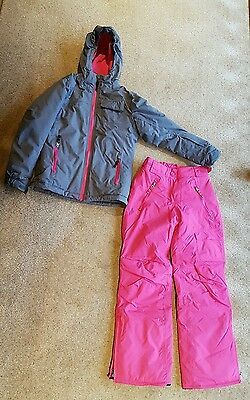 Brand New Girls Ski Jacket and Trousers age 11-12 years.