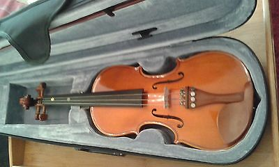 Violin 1/2 Size Gear for Music with Case