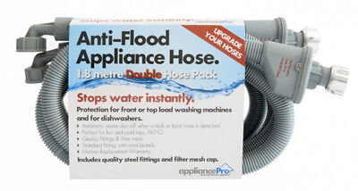 NEW AppliancePro - DBLSTOPHOSE - Dual Anti-Flood Appliance Hose from Bing Lee