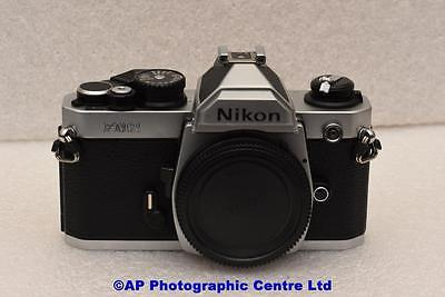 Nikon FM2N 35mm SLR Film Camera Chrome Body only GREAT CONDITION