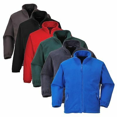 Portwest F400 Argyll Unlined Heavyweight Polyeste Fleece Jacket -Various Colours