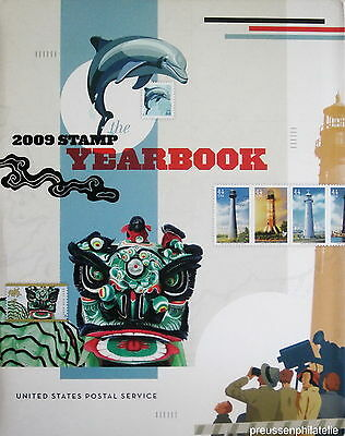USA Jahrbuch 2009 ** The 2009 Stamp Yearbook United States Postal Service, new