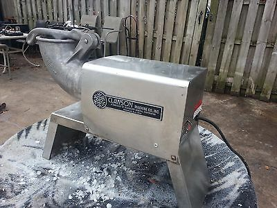 Clawson Machine Co. MODEL 77-RE-Commercial Ice Shaver (Snow Cone Shaved Ice)