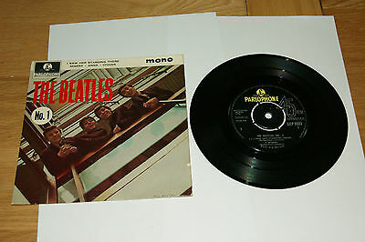 The Beatles EP No1 gep8883 I saw her standing there,Misery,Anna,Chains