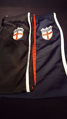 Job lot Wholesale Clearance NEW Boys England Track Pants X 57 + 7 with no badge