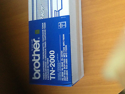 Brother TN-2000 Cartouche de Toner d'Origine