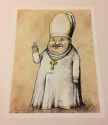 Dran Pope Official Limited Edition Print Paris Pop Up