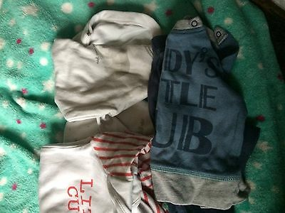 baby boy bundle 0-3 months 3 outfits