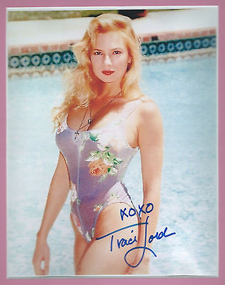 TRACI LORDS Hand Signed 7x9 Autographed Matted Photo w/COA  ADULT FILM PORNSTAR