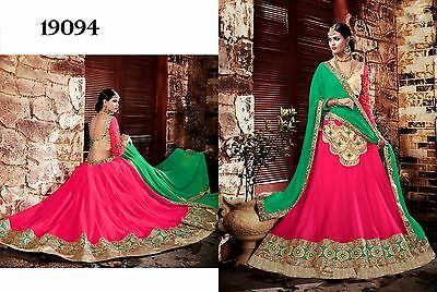 Indian Designer Women Wedding Lehenga Choli Ethnic Party Wear Bollywood Lhenga