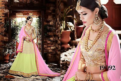 Indian Designer Women Wedding Lehenga Choli Party Wear Ethnic Bollywood Lhenga