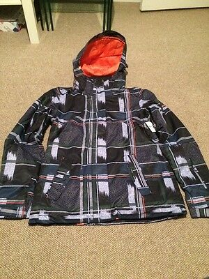 Roxy Ladies Snowboard Jacket Size M Bnwt
