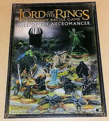 Lord of the Rings SOURCEBOOK FALL OF THE NECROMANCER oop