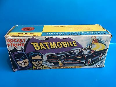 Corgi Toys Vintage 267 Batman Batmobile Original Outer Box Rare