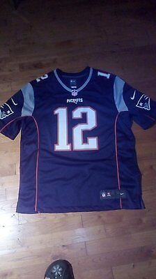 MAILLOT NFL NEW ENGLAND PATRIOTS BRADY 12 taille L