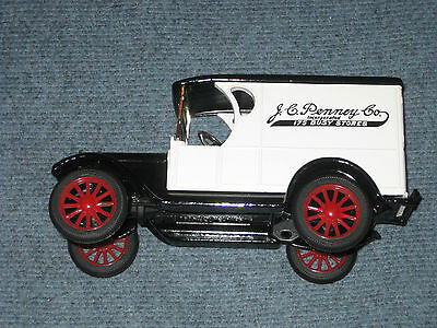 Vintage New Jcpenney Collectible 1923 Chevy 1/2 Ton Truck Bank Locking/with Key