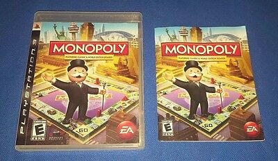 Monopoly - PlayStation 3 Replacement Case - No Game - Case Only PS3
