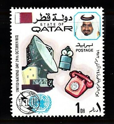 Qatar Sc# 323 United Nations Day October 24, 1972 Mnh