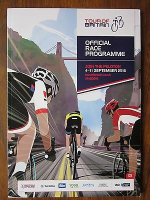 Tour Of Britain Cycling Men's Official Race Programme 2016 * free p&p