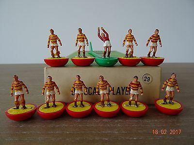 + Subbuteo Heavyweight Team - PARTICK THISTLE Ref: 29 in Referenced Box +