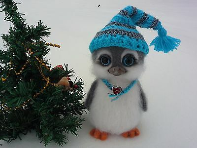 Penguin in the Ice Age.Unique & exclusive Toy