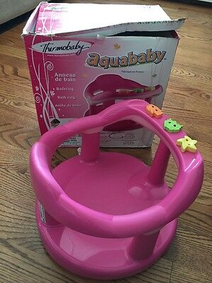 Aquababy Thermobaby Pink Bath Seat