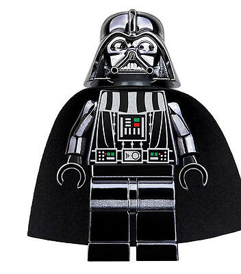 Minifigures Darth Vader Machine Chromed Limited Edition Star Wars Building Toys