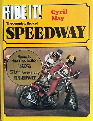 Ride It! Speedway Book By Cyril May