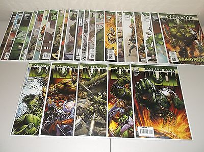 World War Hulk #1-5 + More! (Lot of 26) Hulk #106-111, Front Line Gamma Corps ++