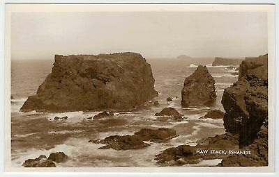 Shetland - Nice view of Maw Stack, Eshaness.