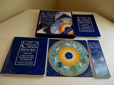 THE CELTIC MOON SIGN KIT by Helen Paterson ~ Rare 1999 UNUSED Box Set