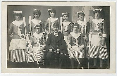 Shetland - Unusual Ramsay-card of a Up-Helly-Aa squad.
