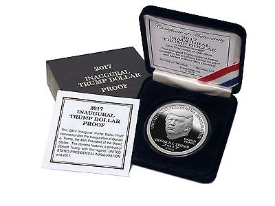 2017 Trump Dollar Inaugural 1 oz .999 Silver $25 Norfed Proof Round USA Coin