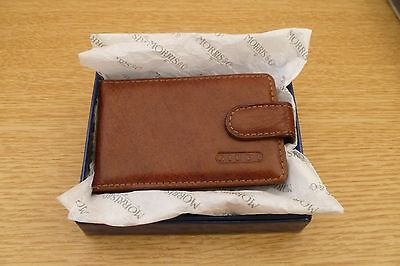 Leather Credit Care Case