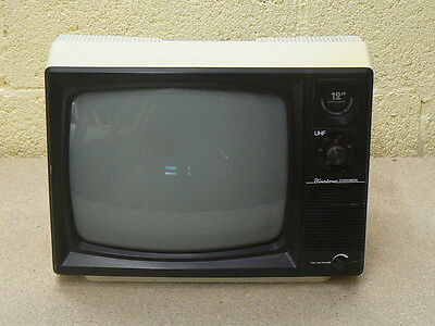 "Binatone Starvision 12"" Black and White Portable TV"