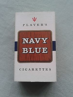 Player'S Navy Blue – 10 Cigarette Packet – Live