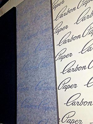 "150 SHEETS 8.5 x 11"" CARBON COPY PAPER TYPEWRITER TATTOO TRANSFER SKIN GRADE A"