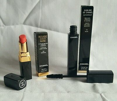 Chanel confezione regalo rossetto coco shine + mascara sublime