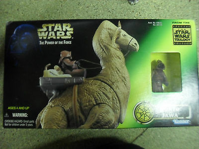 Star Wars Power of The Force Ronto with exclusive Jawa figure
