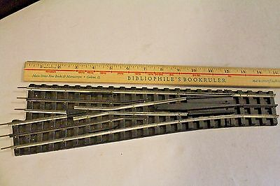 """Each! Gargraves O Gauge 14"""" Left Hand Turnouts (Buy As Many As You Need)"""