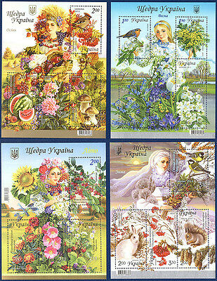 Stamp Sheets Ukraine - MNH (4 sheets)