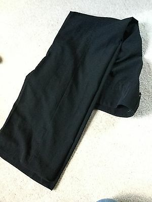 Girls Next Black Scool Trousers age 9 adjustable waist