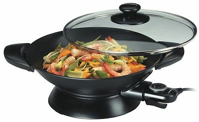Kambrook 5L 2200W Essentials Non Stick Electric Cooking Wok KEW5