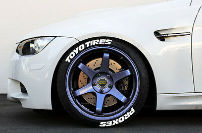 Toyo Tires White Letters >> Tire Letters Toyo Tires Proxes 1 25 For 17 18 19