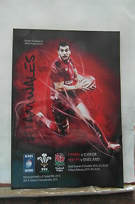 2015 WALES V ENGLAND rugby union programmes