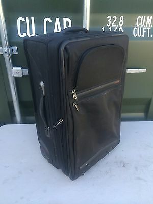 Tumi Cabin Carry on Hand Luggage Two Wheeled Black Suitcase RRP £530