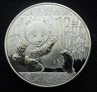 Panda Silver plated Coin 10 Yuan 1oz Chinese 2015 Year Commemorative Coin